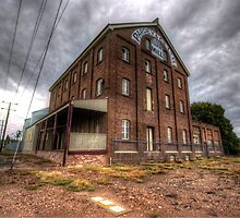 Old Flour Mill Temora  NSW  Rural Australia  by Kym Bradley