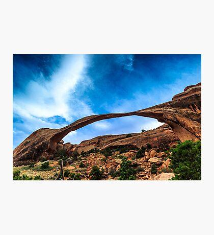 Landscape Arch Photographic Print
