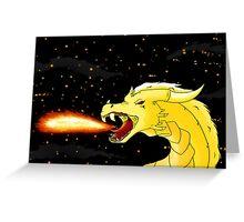 Dragon's breath Greeting Card
