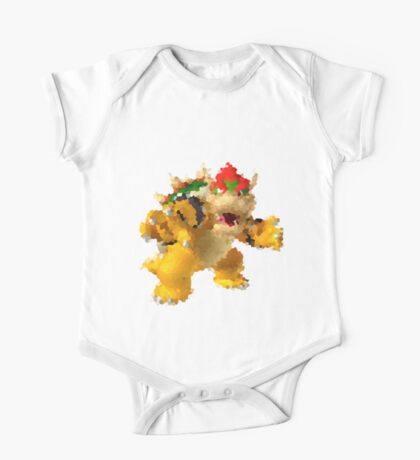 Bowser One Piece - Short Sleeve