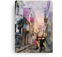 Vesuvio Cafe Canvas Print
