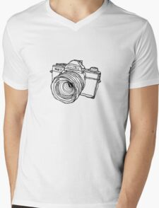 Minolta XG-7 SLR Mens V-Neck T-Shirt