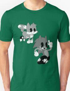 Retro cartoon Sonic Unisex T-Shirt