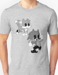 Retro cartoon Sonic Unisex T-Shirt