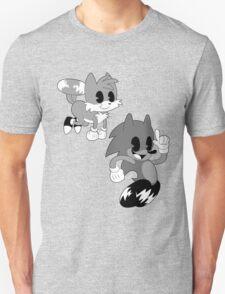 Retro cartoon Sonic T-Shirt