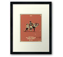 Giggsy Framed Print