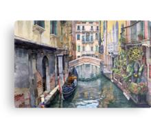 Italy Venice Trattoria Sempione Metal Print