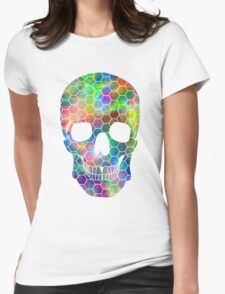 Skull 21 Womens Fitted T-Shirt