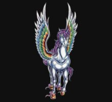 Winged Unicorn by Walter Colvin