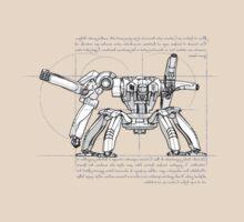 Vitruvian Mech by ReciprocalCo
