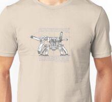 Vitruvian Mech Unisex T-Shirt