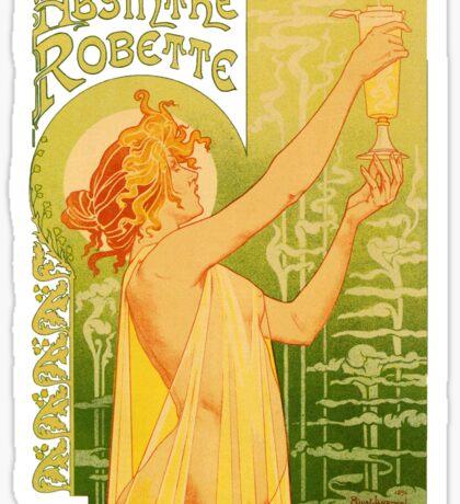 absinthe robette II Sticker