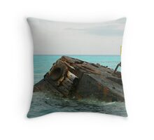 Shipwreck Throw Pillow