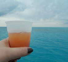 Rum Swizzle at Sea by kchase