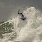 Sebastian Zietz - Rip Curl Pro, Bells Beach 2013 by John Conway