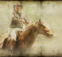 He rides a Brumby by Clare Colins