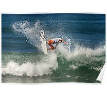 Brett Simpson - Rip Curl Pro, Bells Beach 2013 Poster