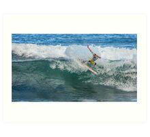 Adam Meling - Rip Curl Pro, Bells Beach 2013 Art Print