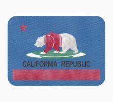 Flag of California Polar Bear Kids Tee