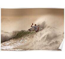Sebastian Zietz - Rip Curl Pro, Bells Beach 2013 Poster