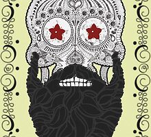 Skull Beard by mijumi