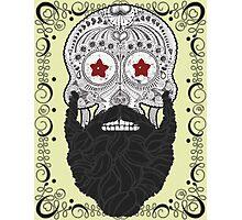 Skull Beard Photographic Print