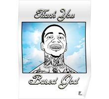 Thank You Based God Poster