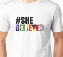 #SheBelieved Unisex T-Shirt