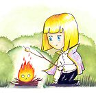 Roasting Marshmallows by FluffyBusStudio