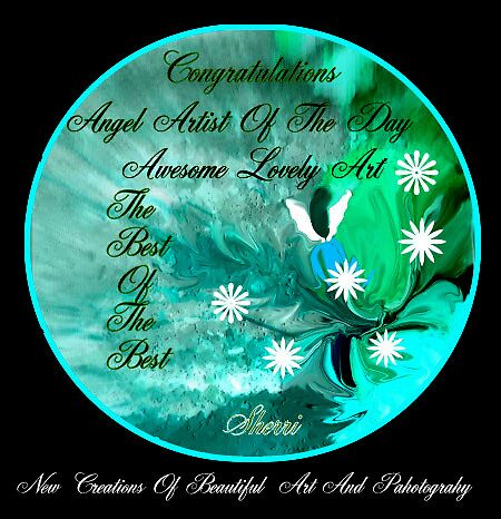 ANGEL ARTIST OF THE DAY BANNER by Sherri     Nicholas