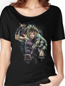 EPIC CLOUD STRIFE FINAL FANTASY VII PORTRAIT Women's Relaxed Fit T-Shirt