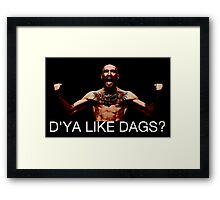 conor mcgregor do ya like dags snatch crossover Framed Print