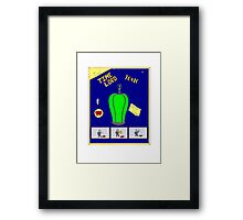 Time Lord Tonic Framed Print