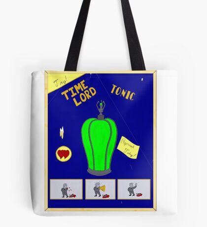 Time Lord Tonic Tote Bag