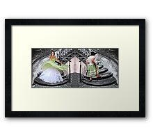 that's life (diptych) Framed Print