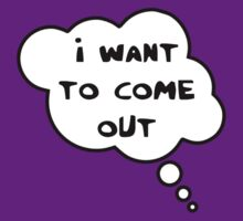 Pregnancy Message from Baby - I Want to Come Out! by Bubble-Tees.com by Bubble-Tees