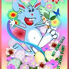 EASTER BUNNY Poster by Lotacats