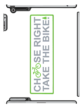 choose right take the bike!  (iPhone & Pad cases) by derP