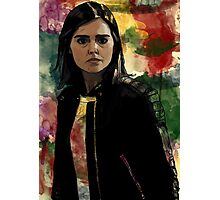 Clara Oswald The Impossible Girl Photographic Print