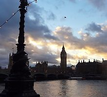 Big Ben by Karentreefern