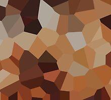 Large Orange Crystals by jojobob