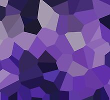 Large Purple Crystals by jojobob