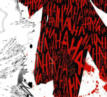The Joker HAHAHAHAHAHAH Sticker
