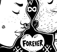 Punx 'n' Pups: Forever Sticker