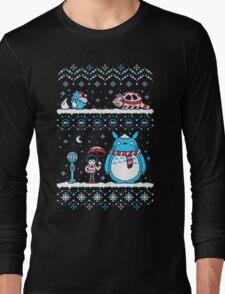 Pokemon Totoro Neighbor Long Sleeve T-Shirt