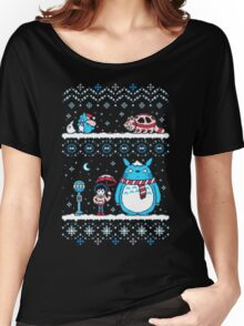 Pokemon Totoro Neighbor Women's Relaxed Fit T-Shirt