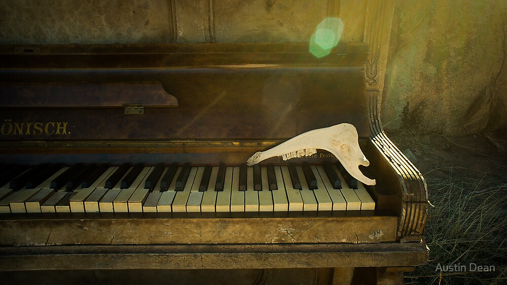 Old Pianos Never Die by Austin Dean
