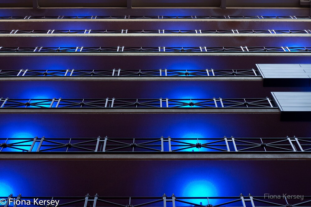 Intercontinental Hotel, Collins St Melbourne by Fiona Kersey