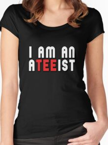 ATEEIST Women's Fitted Scoop T-Shirt