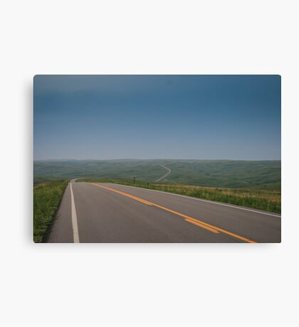 Endless Road Canvas Print